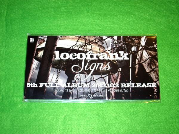 t 告知ポップ POP [Signs] locofrank ロコフランク