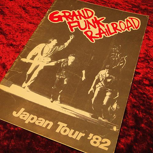 【パンフ】グランド・ファンク//Japan Tour'82/ステッカー付