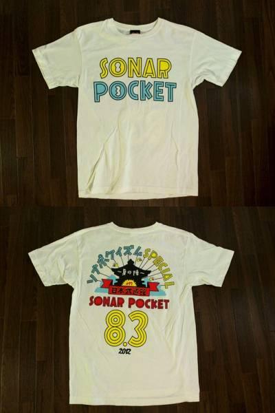 【ソナーポケット】2012日本武道館 夏の陣Tシャツ M 白