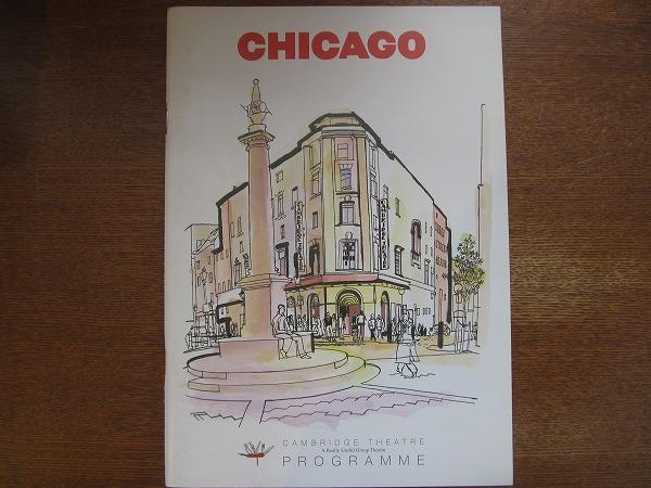 舞台パンフレット「CHICAGO」リー・ミード(ロンドン公演)