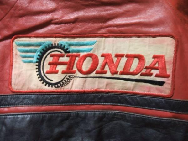 激レア70s ビンテージ HONDA シングル UK ロンジャン ライダース検イギリス 英国 モーターサイクル フルデコ ルイスレザー 666 30S 40S 50S_画像3