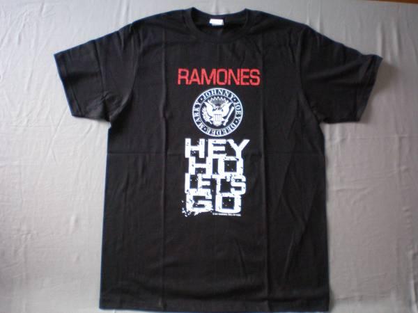 バンドTシャツ  ラモーンズ (Ramones) 新品 L