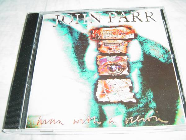 John Parr 「MAN WITH A VISION」 AOR系名盤 David Foster関連_画像1