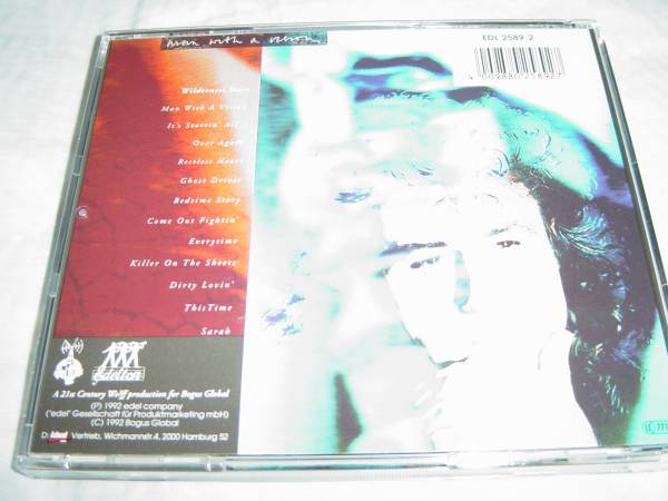 John Parr 「MAN WITH A VISION」 AOR系名盤 David Foster関連_画像2