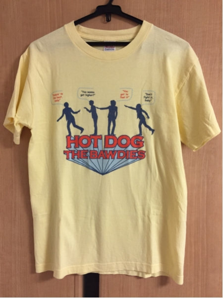 THE BAWDIES HOD DOG Tシャツ サイズS