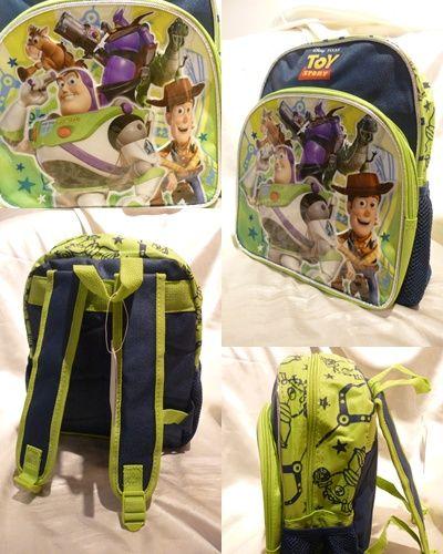 アメリカ直輸入 トイストーリー リュック 子供用 輸入雑貨 ディズニー バズ ウッディ リトルグリーンメン 二歳 三歳 男の子 S_画像2