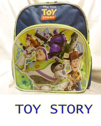 アメリカ直輸入 トイストーリー リュック 子供用 輸入雑貨 ディズニー バズ ウッディ リトルグリーンメン 二歳 三歳 男の子 S_画像1