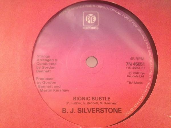 ☆B.J. Silverstone/Bionic Bustle☆渋いINST DISCO!_画像1