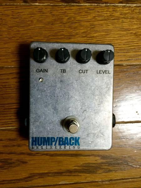 カスタムメイド HUMP/BACK engineering OVER DRIVE Pre Amp