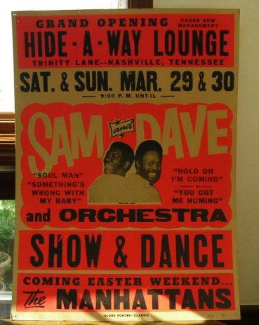 SAM&DAVE サム&ディブ USA  ポスター