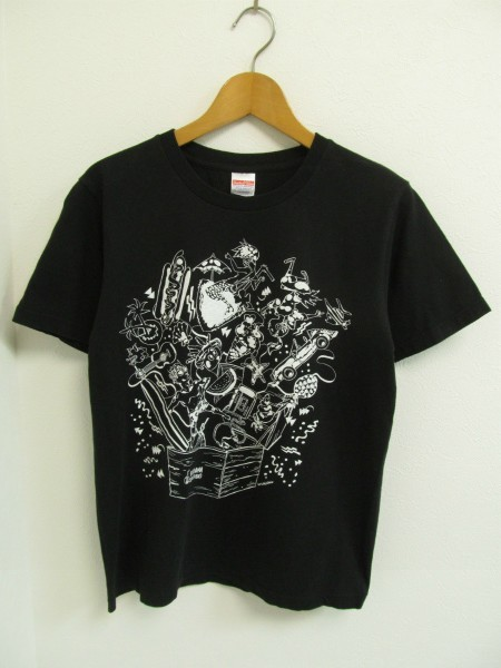 音霊SEASTUDIO'13Tシャツ黒オトダマMz3856
