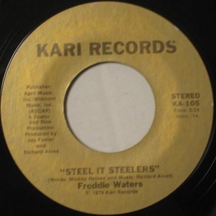 SOUL FUNK 45 / Freddie Waters / Steel It Steelers_画像1