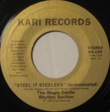 SOUL FUNK 45 / Freddie Waters / Steel It Steelers_画像2