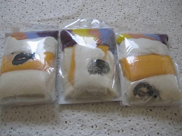 ハマナカ 羊毛フェルト フロリットキット3点_画像2