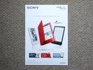 【カタログのみ】SONY 電子書籍リーダー PRS-T3S PRSA Reader PS Vita