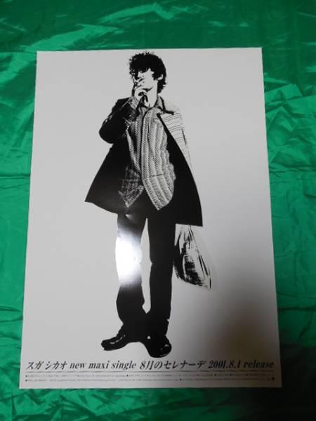 スガシカオ 8月のセレナーデ B2サイズポスター