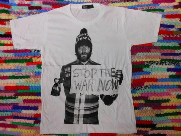 ★即決!★ ヴィンセントギャロ ≪ 戦争反対!STOP THE WAR NOW ≫ 新品 Tシャツ ★