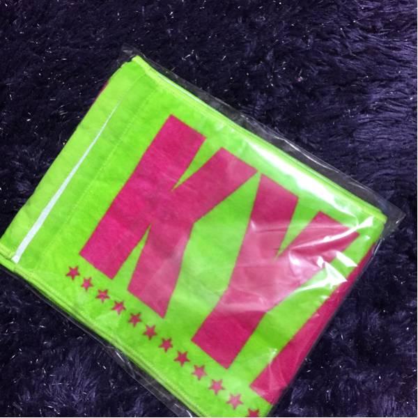 新品ゴールデンボンバー金爆名前入り2013ロゴタオル喜矢武豊 ライブグッズの画像