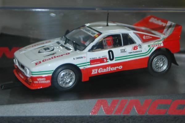 1/32スロットカー NINCO製ランチャ037#0_画像1