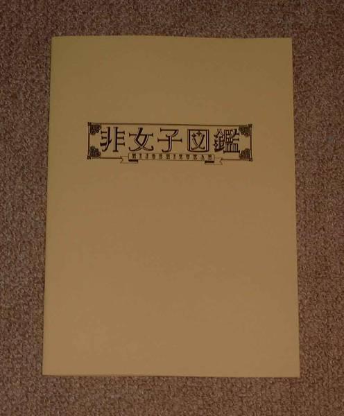 「非女子図鑑」プレス:鳥居みゆき/足立梨花/山崎真美 グッズの画像