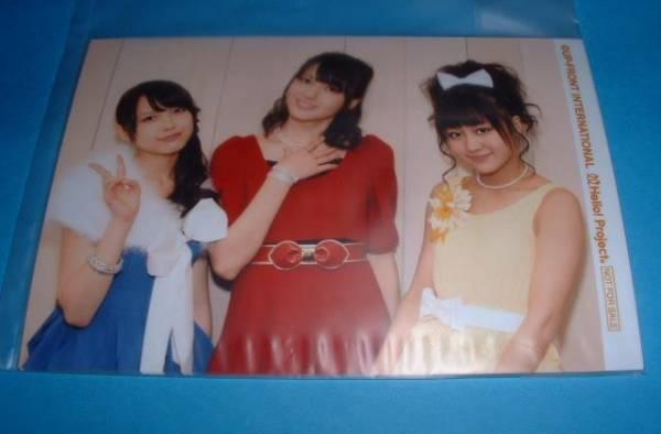 バースデーイベント2011年2月 矢島中島萩原 写真(非売品)DVD特典