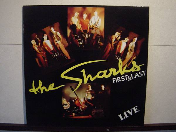 SHARKS LP サイコビリー ネオロカビリー_画像1