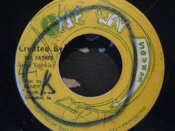 ■Errol Dunkley/Created By The Father■KILLER ROOTS!_画像1