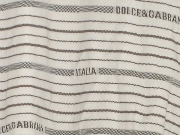 ★DOLCE&GABBANA ロゴポロシャツ サイズ44_画像3