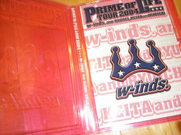 w-inds PRIME OF LIFE TOUR 2004 パンフレット_画像2