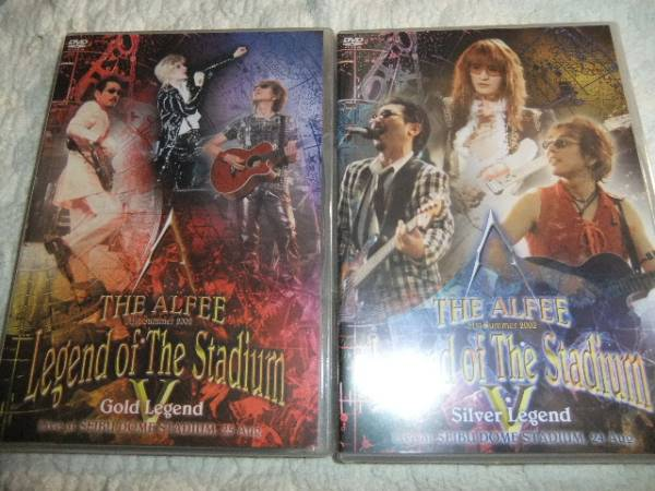 THE ALFEE 21th 夏イベLegend of The Stadium V DVD2本セット