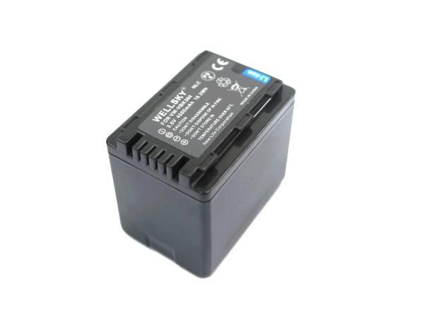 Panasonic VW-VBK360 VW-VBK360-K 互換バッテリー 残量表示可能 純正品と同じよう使用可能 HC-V700M HC-V600M HC-V300M HC-V100M_残量表示可能
