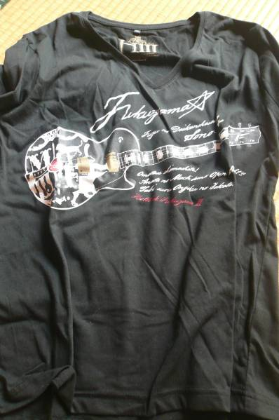 福山雅治 冬の大感謝祭2015 ギターTシャツ黒 L 未開封 ライブグッズの画像