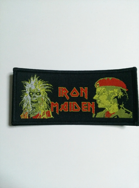 IRON MAIDEN 刺繍パッチ ワッペン Women in Uniform / motorhead