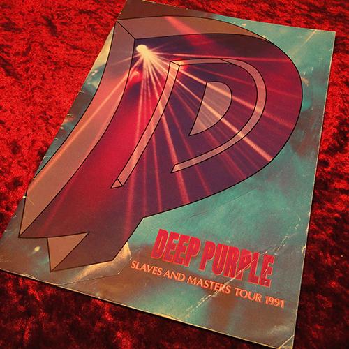 【パンフ】Deep Purple//SLAVES AND MASTERS TOUR 1991
