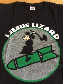 ジーザスリザードThe Jesus Lizard ロック バンド Tシャツ 黒 S