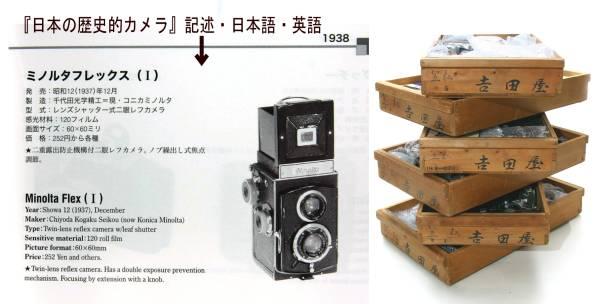 カメラコレクター御用 日本歴史的カメラ選定品 まとめて321機種 最落設定無し_各個体毎 日本語と英文の解説付 調査不要