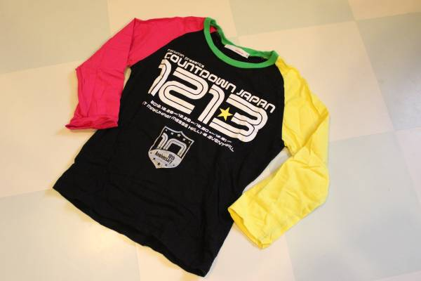 カウントダウンジャパン2012年10周年記念ロングTシャツ限定品_画像1