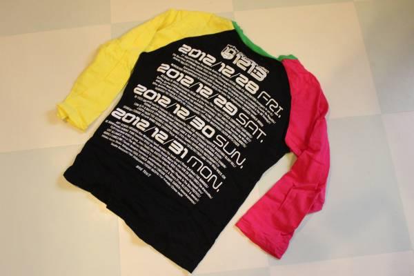 カウントダウンジャパン2012年10周年記念ロングTシャツ限定品_画像2