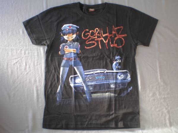 バンドTシャツ    ゴリラズ (GORILLAZ)  新品M
