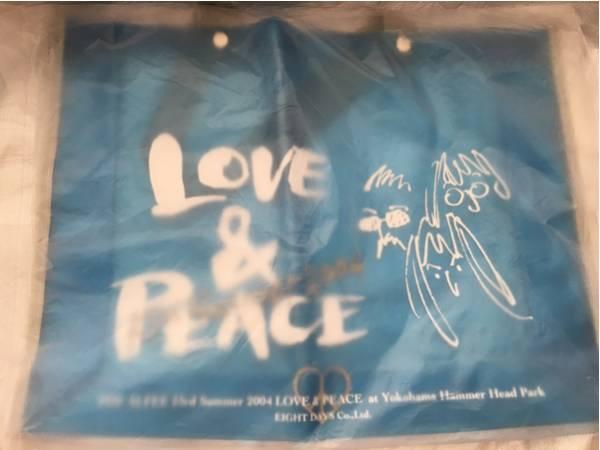 THE ALFEE 23rd 2004 LOVE & PEACE ビニールバック アルフィー