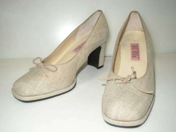値下げ交渉♪送料無料 日本製 POOL SIDE プールサイド パンプス 23.5cm 靴 レディース