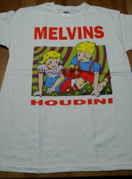 MELVINS Tシャツ HOUDINI ベージュM /metallica anthrax nirvana