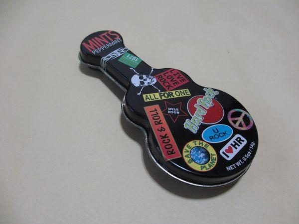 Hard Rock Cafe☆ギター 空缶 小物入れ