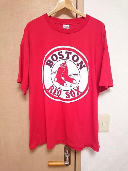 ボストンレッドソックス ロゴ Tシャツ☆☆ グッズの画像