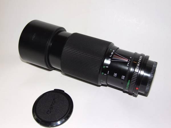 キャノンニューFD 70-210㎜ F4 自動絞り不良