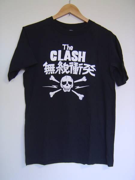 ♪~90sクラッシュThe CLASH無線衝突TシャツUSA製MビンテージOLD