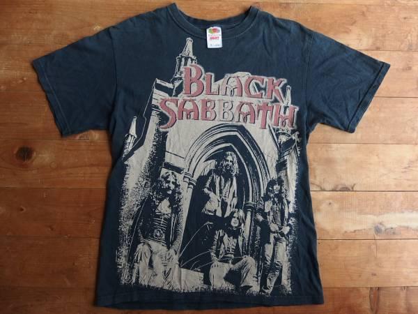 古着 BLACK SABBATH ブラックサバス バンドTシャツ M 黒