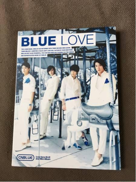 CNBLUE ジョンシン 直筆サイン CD BLUE LOVE 韓国 ライブグッズの画像