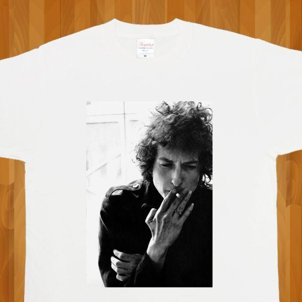 新品 Bob Dylan ボブディラン ROCK ロック フォト3 Tシャツ【S】_画像3