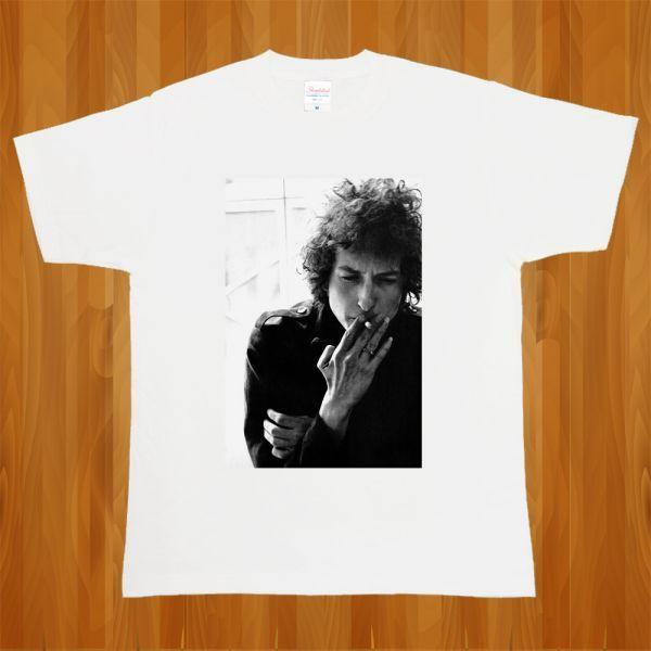 新品 Bob Dylan ボブディラン ROCK ロック フォト3 Tシャツ【S】_画像1